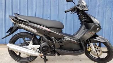 Yamaha scooter Nouvo S Japan Lo Mile 1pakcik pakai
