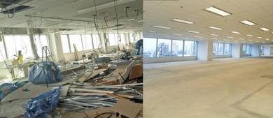 Office Dismantling & Fixture Removal Service