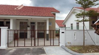 Single Storey House (End lot) Taman Desaru Utama