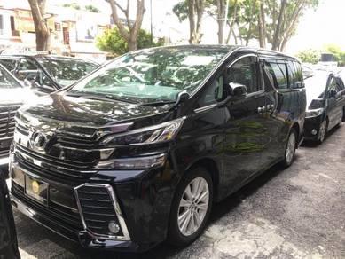 2016 Toyota VELLFIRE 2.5 ZA BIG DEAL SALE