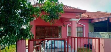 1 Storey Terrace End Lot Rantau Panjang Klang For Sale
