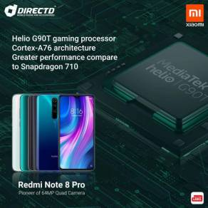 XIAOMI NOTE 8 PRO (6GB RAM/128GB/4 Kamera BLKG)