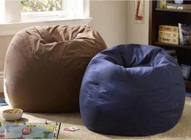 XXL Size Beanbag 2 Layers Cover Canvas T
