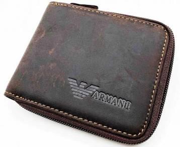 Armani 100% Genuine Leather Men's Wallet