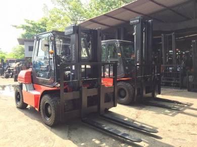 JAPAN Imported TOYOTA 6 or 7 ton DIESEL FORKLIFT