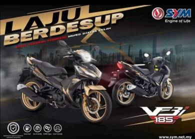 2019 New sym vf3i 185 v2