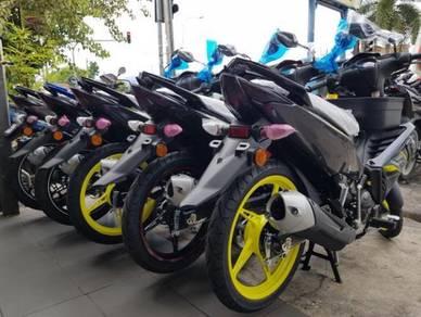Yamaha LC 135 Black List 100% Loan Kedai IC sahaja