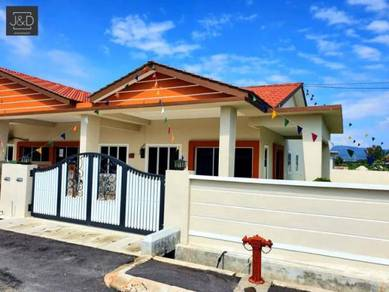 0% deposit 1 storey terrace 4 bedroom pengkalan station 18 ipoh