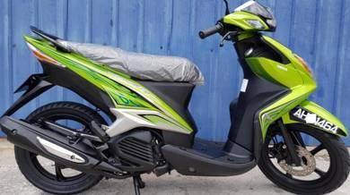 Yamaha skuter EGO LC 125 Low Mileage 1pakcik pakai