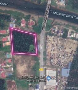 Zoning Industry Land Jalan Batu Pahat Tongkang Pecah