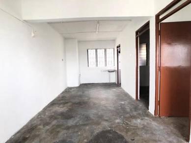 Low Cost Flat Blok 57 Skudai Tun Aminah For Sales