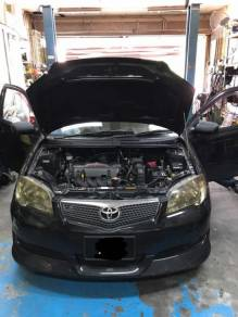 Toyota Vios NCP42 Aircond Service Open Dashboard