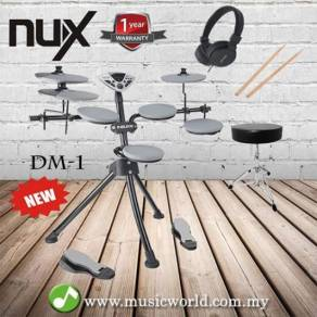 Nux portable digital electrical drum kit dm1