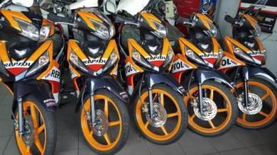Honda dash fi repsol ( DP NO GST)