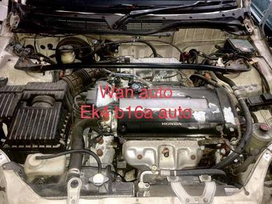 Honda Civic ek4 si halfcut Engine b16a auto