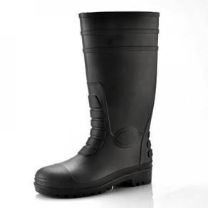 PVC Black Boots S5 SRC Safety Boots