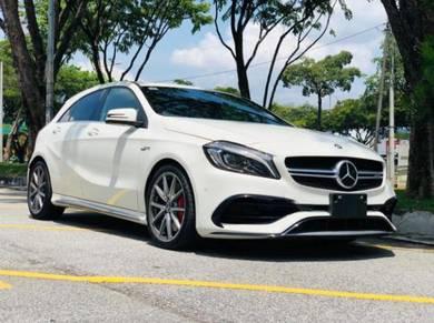 RACE MOD EXHAUST SYSTEM 2016 Mercedes Benz A45 AMG