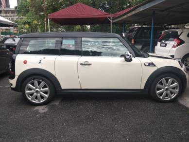 2008 Mini COOPER 1.6 S CLUBMAN (A) red 2013
