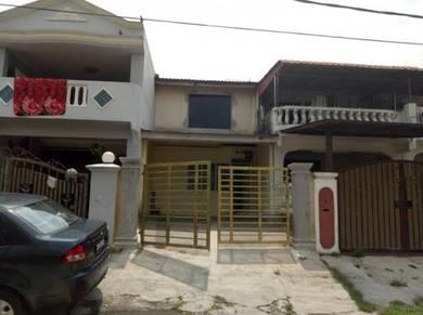 Double Storey Lowcost House Renovated at Taman Desa Jaya, near IKEA