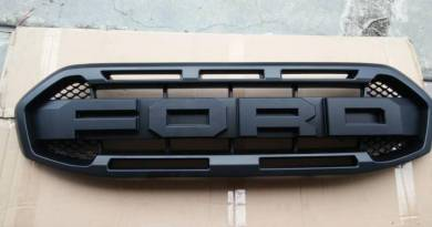 Ford RANGER T8 2.0 Front Grill word FORD