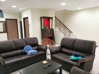 Taman Seri Orkid Skudai Double Storey Terrace 22x70 Renovated Kulai