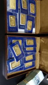 Pamp suisse lady fortuna 50g emas gold bar
