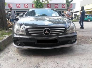 Mercedes Cls W219 Front Lip Bodykit