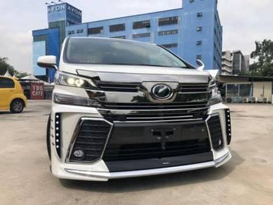 2018 Toyota VELLFIRE 2.5 FACELIFT ZG PILOT ALPINE