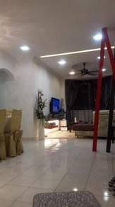 Vista Seri Alam GROUND FLOOR CORNER LOT Apartment for RENT FULLY