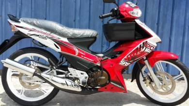 Modenas Dinamik 120 6 speed 2Disc Low Mile 1pakcik