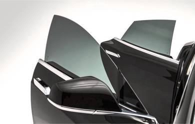 Car tinted black 99