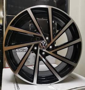 NEW RIM 18x8 5x112 VW GOLF GTI R DESIGN WHEELS