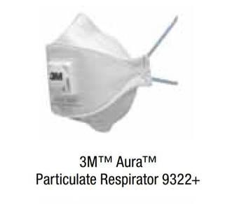 3M™ Aura™ Particulate Respirator 9322A+, N95