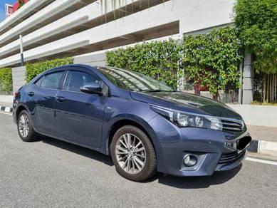 2014 Toyota COROLLA 1.8 ALTIS E FACELIFT (A)