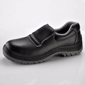 BLACK MicroFiber Material Safety Shoes S3 SRC