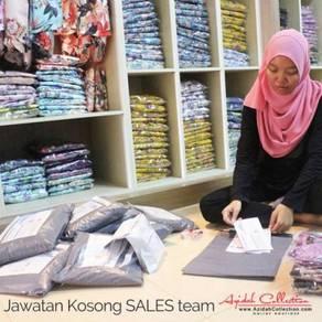 Online Sales Team /Marketing /Jurujual Baju Kurung