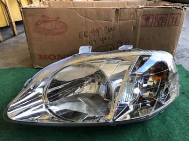 Honda ej ek ek3 virs ek4 ek9 ek99 headlamp Lampu