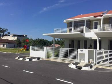 2 Storey corner terrace house at Sg Bakap for sale