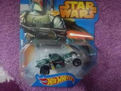 Hotwheel Star Wars Character Car Boba Fett