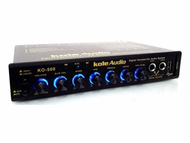 Kole audio sd/usb 2-mic karaoke pre amplifier