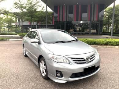 2013 Toyota COROLLA 1.8 (A) ALTIS G Black Interior