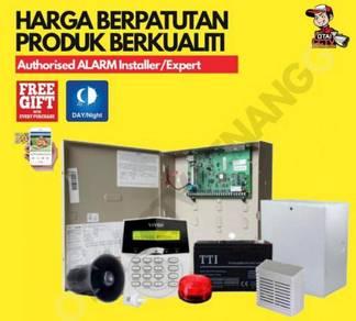 Pakej Alarm System Wired / Wireless Rumah & Kedai