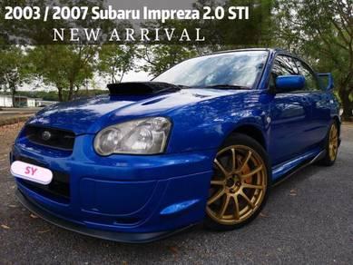 2003 Subaru IMPREZA 2 0 WRX STi (M)