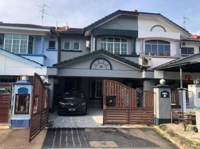 GATED & GUARDED - Bandar Seri Alam, Jalan Tasek / Double Storey Terrac