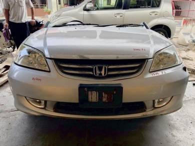 Honda 1.7 es es3 es9 rx FL bodypart bumper bonet