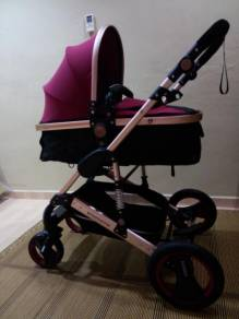 Stroller Baby bergaya full spec (RIM Besar)