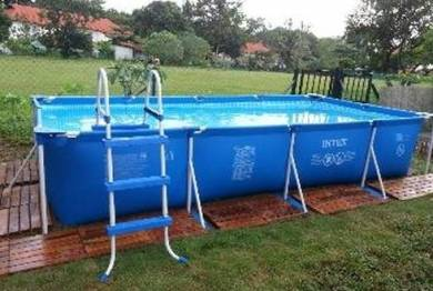 INTEX POOL 15ft X 7ft and 33inch height