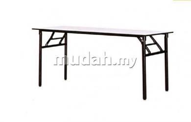 Office use folding banquet table 5x1.5 25mm Leg