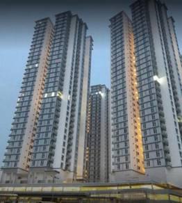 M Condominium / Larkin / To Ciq 10minit / 3Bedroom / New / Full Loan