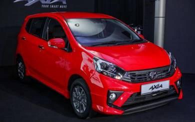 2019 Perodua AXIA G (BARU) REBATE + FREEGIFT +STOK